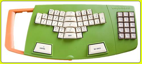 Del teclado QWERTY al teclado fonético | Usos | Veyboard ceslava 3